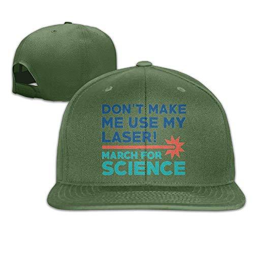 Flat Visor Baseball Cap, Fashion Snapback Hat Natural ()