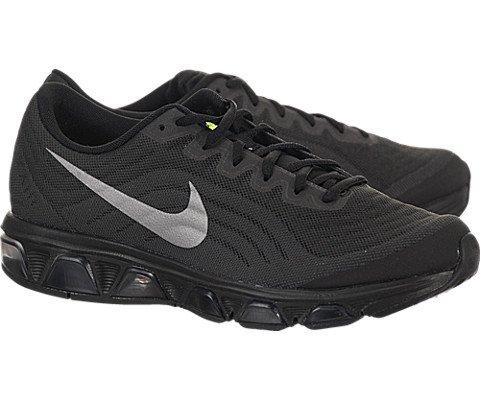 Nike Mens Air Max Tailwind 6 Black/Rflct Silver/Drk Gry/Vlt Running Shoe 13 ...