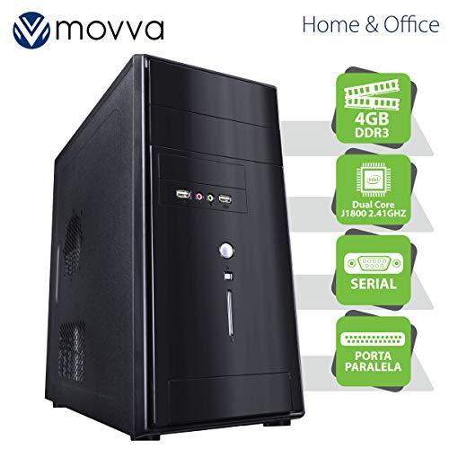 COMPUTADOR LITE INTEL DUAL CORE J1800 2.41GHZ MEM. 4GB SEM HD 1X PORTA PARALELA 1X PORTA SERIAL FONTE 200W - MOVVA