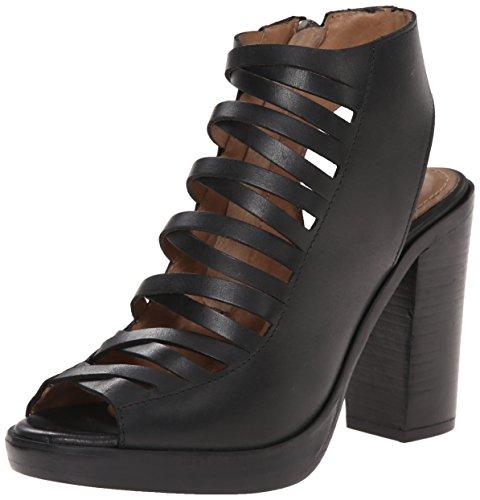 Dress Leather Steve Madden Sevvile Sandal Black a4xxq6f7w