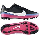 Nike JR Mercurial Victory III CR AG - Botas de fútbol para niño, talla 38, color negro / gris