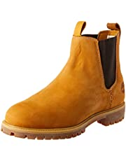 Timberland Men's 6in Premium Chelsea Boots, Wheat Nubuck