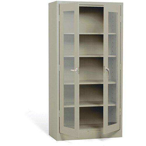 Cabinet Atlantic Office (Atlantic Metal Visual Storage Cabinet - 36X18x72