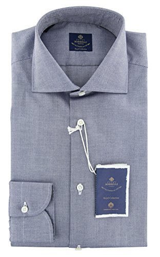 new-luigi-borrelli-blue-solid-extra-slim-shirt