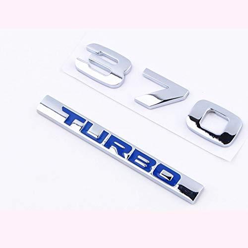 KEKJORY Turbo Car Logo Honda Crown Road 370 Turbo Car Tail Upgrade Word Mark: