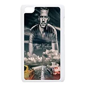 Paul Walker Design Discount Personalized Hard Case Cover for iPod Touch 4, Paul Walker iPod Touch 4 Cover