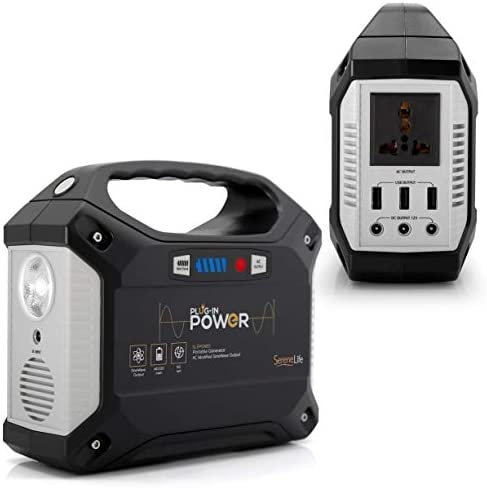 SereneLife Portable Generator Station Inverter