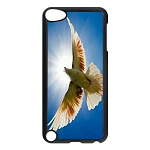 White Dove Custom Cover Case for Ipod Touch 5,diy phone case ygtg584378