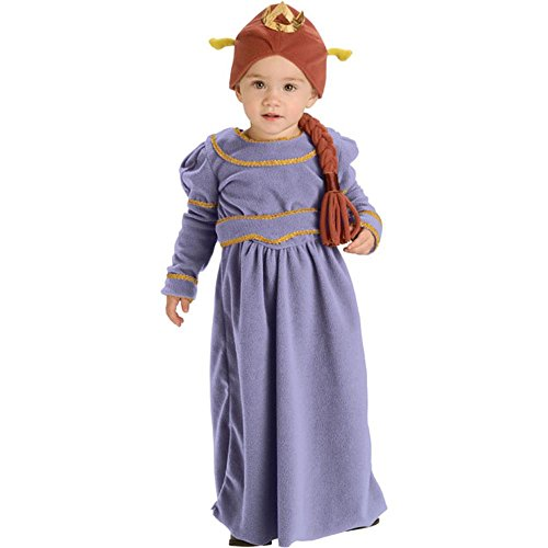 Baby Girl Shrek Costume (Baby Girl Princess Fiona Costume (Size: 6-12M))