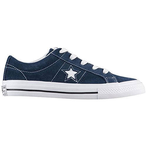 Trainers Navy Star Converse Ox One Suede Youth White w1XxqYEA