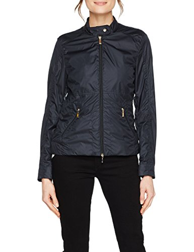 Nights blue Geox Donna Woman F4386 Jacket Blau Cappotto rwBqvxYFB