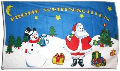Flagge Frohe Weihnachten - 60 x 90 cm Flaggenfritze