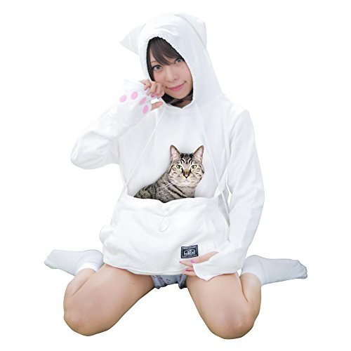 Mewgaroo Hoodie Nyangaroo Unihabitat Cat Dog Carriers L (Alex Carrier Dog)