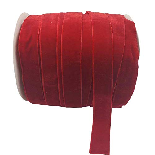 Top 10 red ribbon 1 inch velvet for 2020
