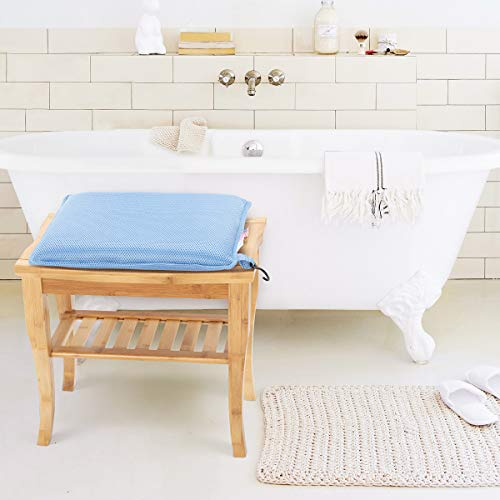 Oasisspace Shower Chair Cushion Transfer Bench Shower Stool