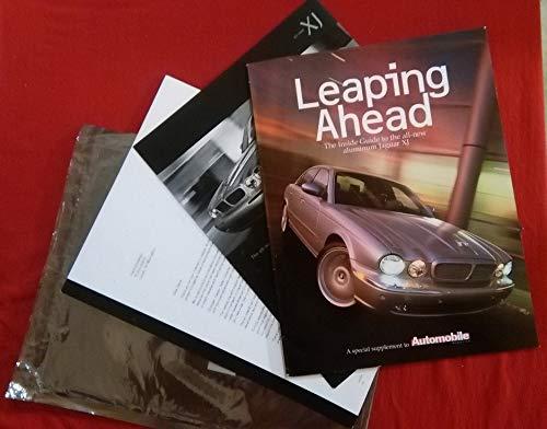 (2004 JAGUAR XJ SEDAN * Leaping Ahead * SPECIAL AUTOMOBILE MAGAZINE SUPPLEMENT COLOR MAILING PACK BROCHURE - USA - FANTASTIC ORIGINAL !!)