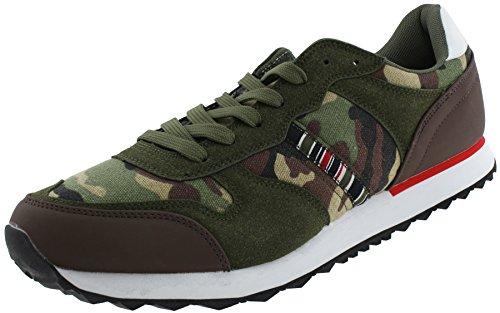 Combo Verde Con Sneakers Basse Triple Five Soul Mens Brooklyn