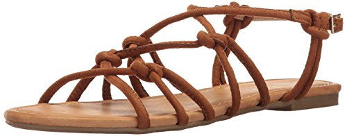 Report Women's Gail Flat Sandal, Tan, 8.5 M US ()