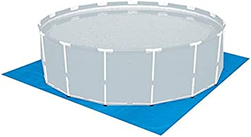 Natación piscina para niños gamuza de suelo hoja 270 cm x 270 cm ...
