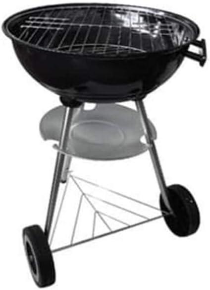 vidaXL Bbq Kettle Charcoal Grill Barbecue 17 Steel