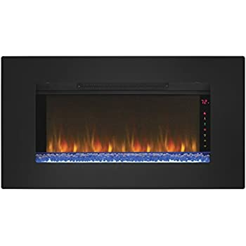 wall mounted fireplace tool holder this item infrared quartz black glass frame mount electric designs with mantel