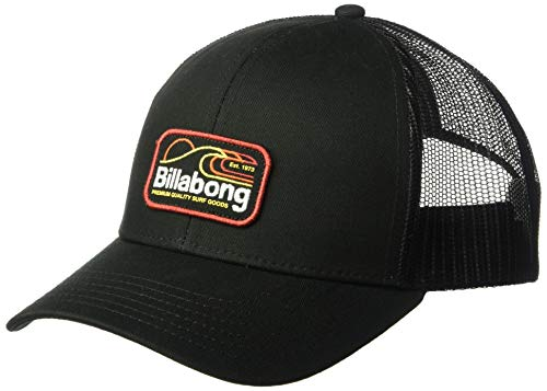 Billabong Men's Walled Trucker Hat Black One Size ()