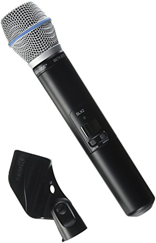 Shure SLX2/BETA87C Handheld Transmitter with BETA 87C Microphone, G4 ()