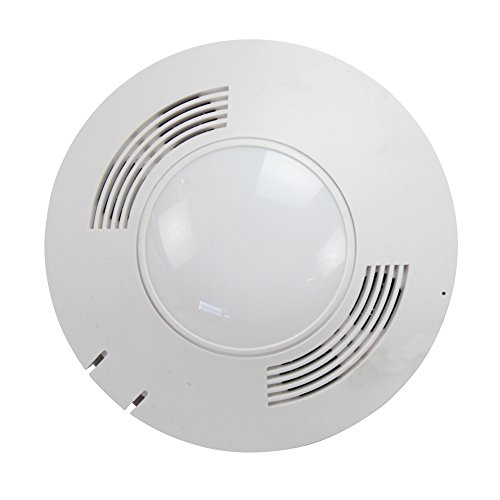 Ultrasonic Ceiling Occupancy Sensor (Cooper Lighting OAC-DT-2000-R Microset Dual Tech Passive Ultrasonic Infrared Ceiling Mount Occupancy Sensor; White)