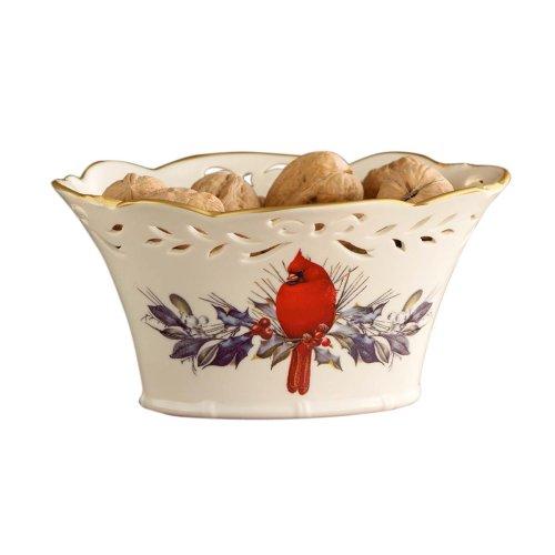 Pierced Basket (Lenox Winter Greetings Pierced Basket)