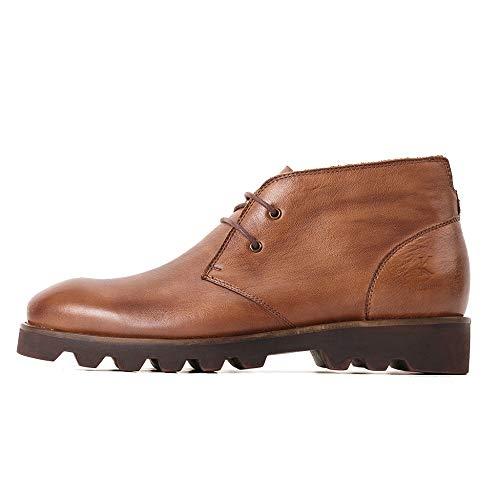 Da Antiscivolo Calzature Stivali Scarpe Casual In Desert Uomo Boot Lace Coffee Shoe Lavoro Vera Chukka Da Cowboy Martin Da Ups Pelle Vintage MERRYHE qF4ZgT4
