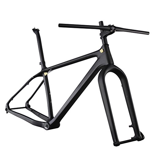 ICAN 26er Carbon Fat Tire Bike Frame set 16/18/20 Inch BSA 197 x 12mm Rear 150 x 15mm Fork Spacing