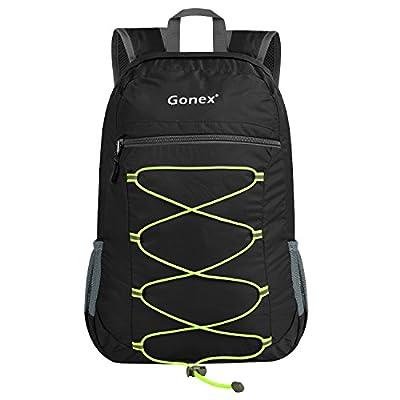 Gonex Lightweight Travel Backpack, Packable Handy Daypack Ultralight 25 Liters