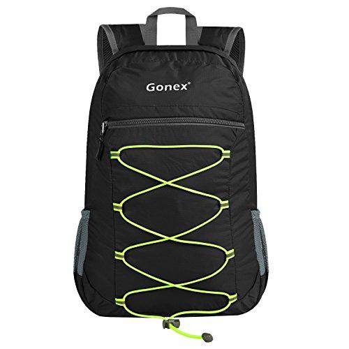 25L Packable Backpack, Gonex Lightweight Handy Foldable Daypack