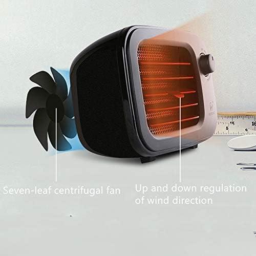 HLJ Kleine huishoudelijke apparaten Portable Mini Heater huishoudens Desktop Electric kachelventilator PTC Air Warmer Binnenlandse Zaken for