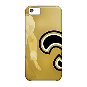 DateniasNecapeer Perfect Cases For Iphone 5c/ Anti-scratch Protector Cases (new Orleans Saints)