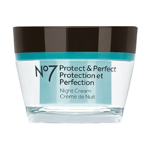 Boots No7 Protect & Perfect Intense Night Cream 50ml 1.69 us FL.Oz