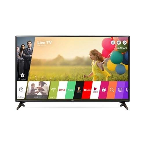 Class Led Hz 120 (LG Electronics 49LJ550M 49-Inch Class Full HD 1080p Smart LED TV (2018 Model))