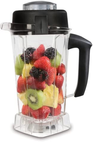 Vitamix Eastman Tritan Copolyester Soft-Grip 64-Ounce Container with Wet Blade and Lid 15848