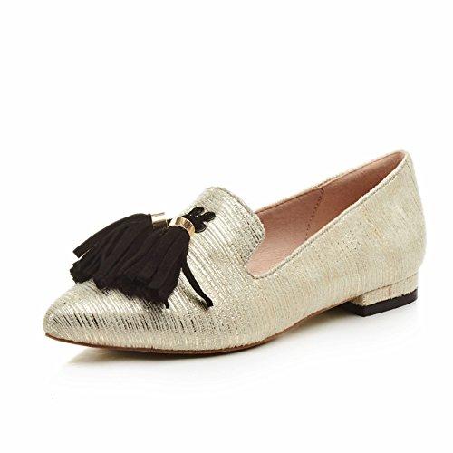 Zapatos Mujer Primavera/zapatos bajo acentuados poco profundos/La versión coreana del talón grueso pies dulce salvaje B