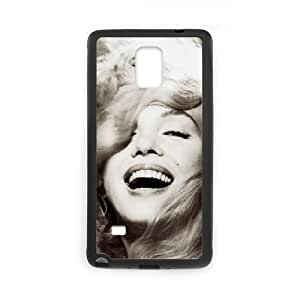 WJHSSB Customized Marilyn Monroe Hard Cover Case For Samsung Galaxy Note 4