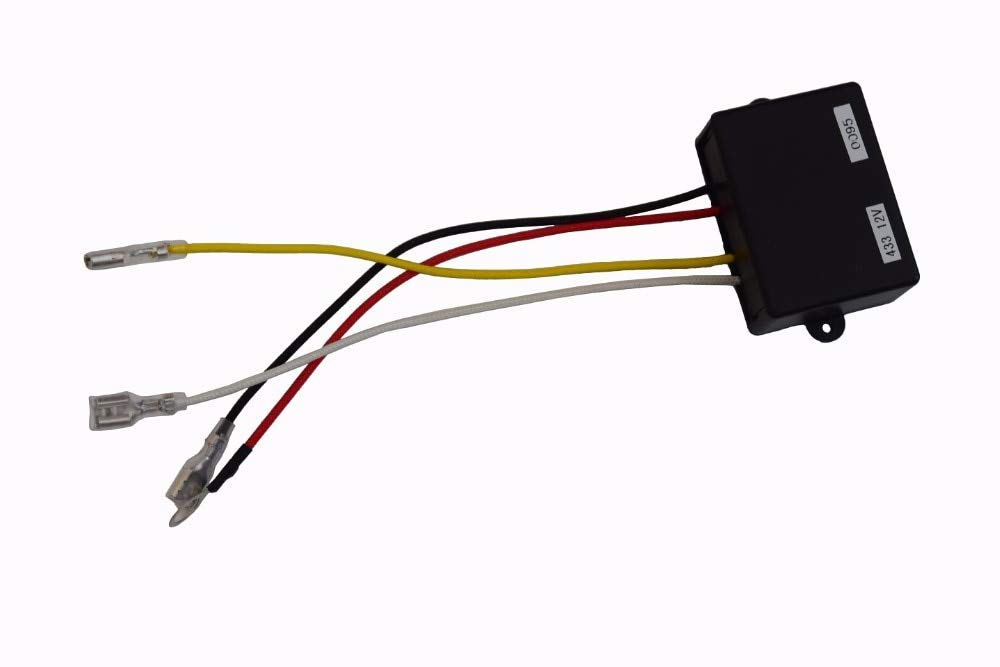 Camion Fly/&Hi Treuil /électrique sans Fil 12 V avec t/él/écommande et r/écepteur pour Voiture ATV