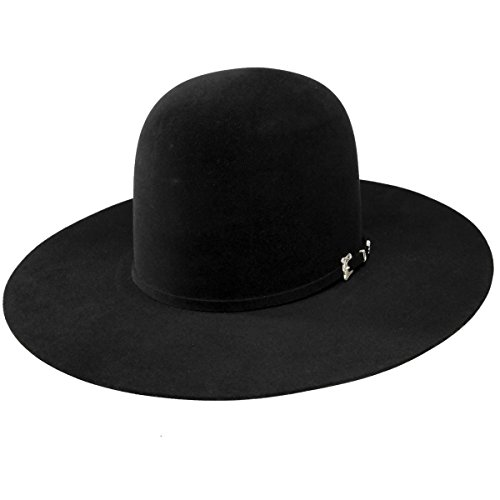 f417d39dceb Jual Resistol Mens 20X Black Gold 4 1 4 Brim Open Crown Felt Cowboy ...