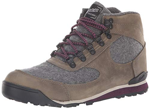 Danner Women's Jag Wool Ankle Boot, Smoke Gray, 7.5 M US