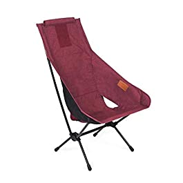 Helinox Unisex – Adult One Home Camping Chair, Burgundy, 55 x 65 x 85 cm