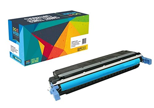 Do it Wiser Remanufactured Extra High Yield Toner Cartridge Replacement for HP 507X LaserJet 500 Color M551 Series Cyan