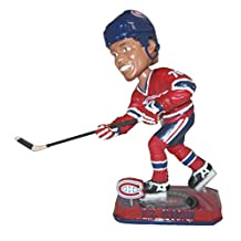 NHL Montreal Canadiens Subban P. #76 2014 Springy Logo Base Bobble Road Figurine, Blue