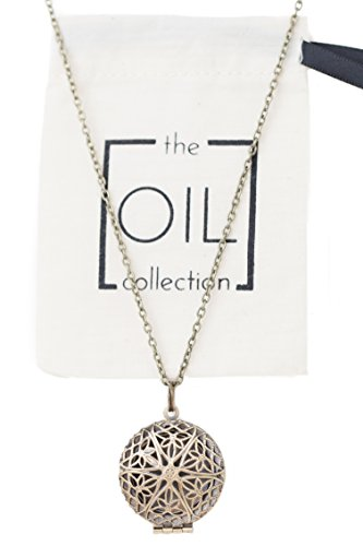 Essential Aromatherapy Diffuser Locket Necklace