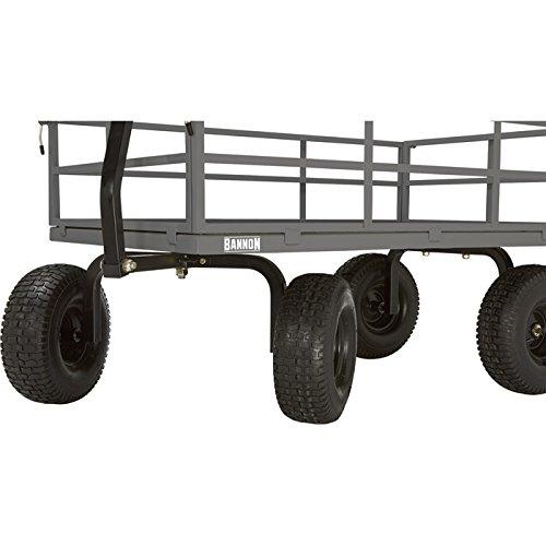 Bannon Industrial-Grade Steel Wagon - 1500-Lb. Capacity, 15in. Tires