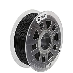 Diy 1kg 1.75mm pla 3d printing filament dimensional accuracy +/- 0.02 mm for fdm printer 1kg spool (2.2lbs) pla 3d printer filament (black)