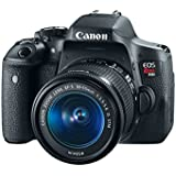 Canon EOS Rebel T6i Camera + EF-S 18-55mm f/3.5-5.6 IS STM + 55-250STM 0591C003